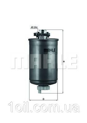 Фильтр топливный KNECHT KL75
