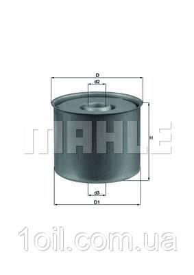 Фильтр топливный KNECHT KX23