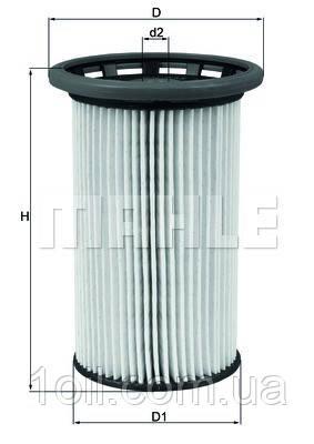 Фильтр топливный KNECHT KX342
