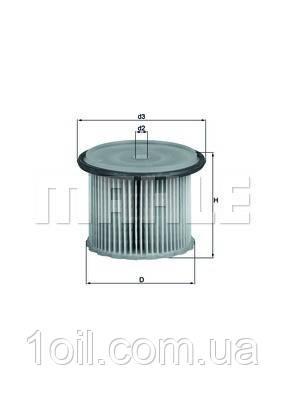 Фильтр топливный KNECHT KX63/1