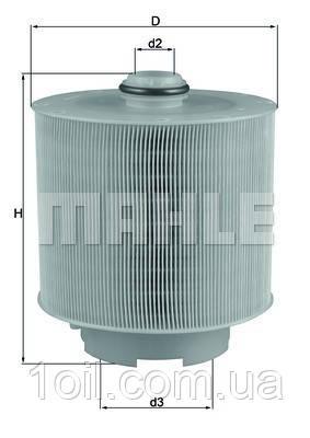 Фильтр воздушный KNECHT LX1006/2D