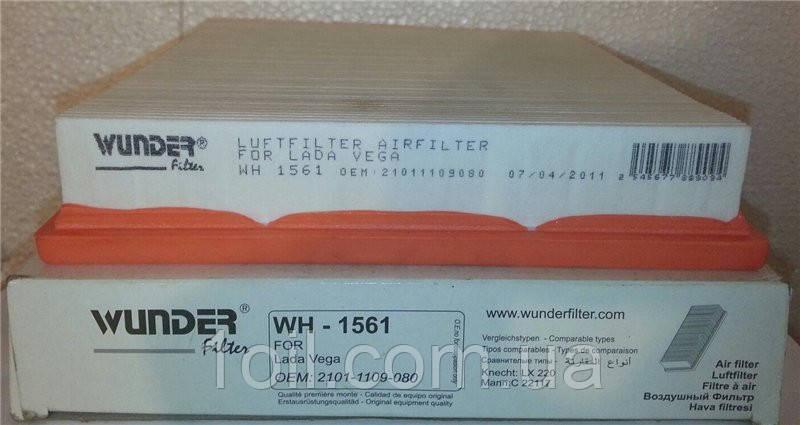 Фільтр повітряний на інжекторний ВАЗ (Wunder Туреччина) (аналог LX220)
