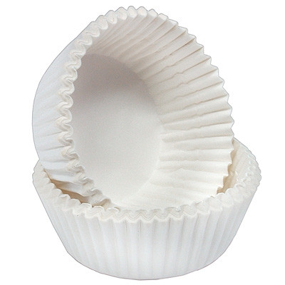 Форма для кексів біла 50 шт