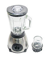 Стационарный блендер 2в1 со стеклянной чашей + кофемолка Domotec MS-6609 1000W с кувшином, кофемолкой, Блендеры