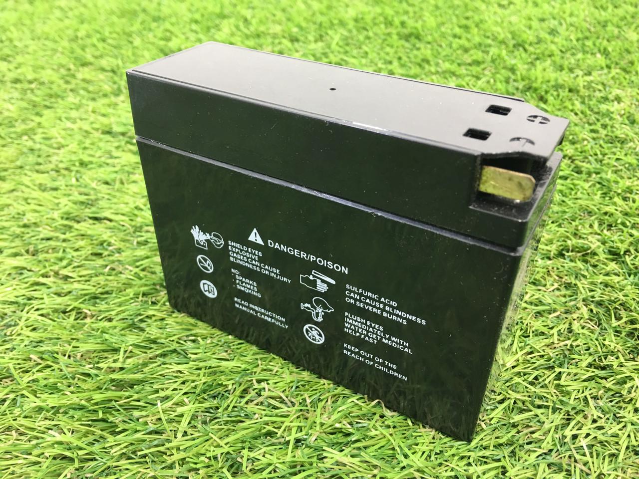 Свинцово-кислотный аккумулятор на 12V/4Ah необслуживаемый