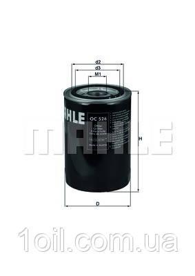 Фильтр масляный KNECHT OC526