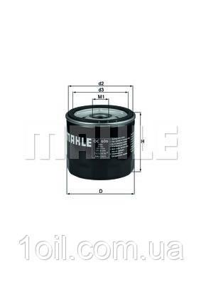Фильтр масляный KNECHT OC606 (ОС266)