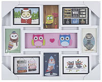 Рамка EVG FRESH 8130 WHITE COLLAGE 8 OWL