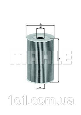 Фильтр масляный KNECHT OX351D