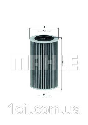 Фильтр масляный KNECHT OX384D