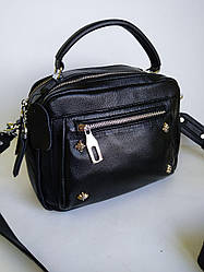 Женская кожаная сумка в стиле  Polina & Eiterou на два отдела