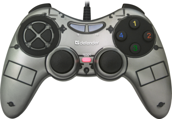 Игр.манипулятор DEFENDER (64244)Zoom геймпад USB