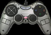 Игр.манипулятор DEFENDER (64244)Zoom геймпад USB, фото 1