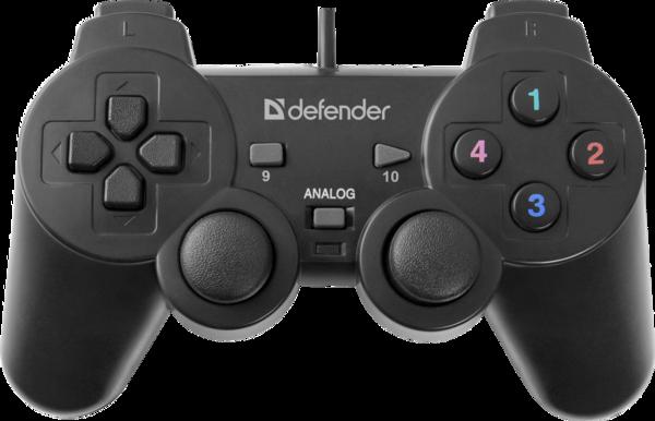 Игр.манипулятор DEFENDER (64247)Omega геймпад USB