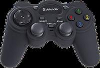 Игр.манипулятор DEFENDER (64251)GAME RACER TURBO аналоговый, фото 1
