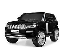 Детский двухместный электромобиль Land Rover M 4175EBLR-2 черный