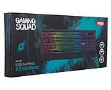 Клавиатура ERGO KB-640 Keyboard ENG/RUS/UKR Черный, фото 5