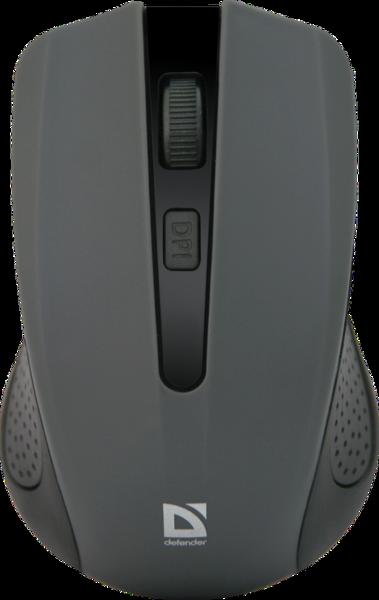 Мышь DEFENDER (52936)Accura MM-935 Wireless серый