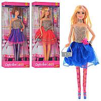 Кукла DEFA, подставка, сумочка, 3 вида, 8259