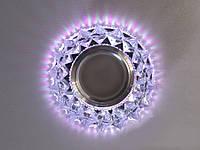 Встраиваемый светильник с светодиодной подсветкой 8105WH+PK