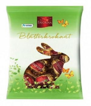 Шоколадные конфеты Favorina Blatterkrokant 150 g, фото 2