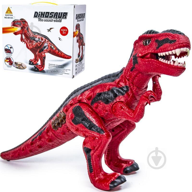 """Игрушка интерактивная  """" 3D Динозавр"""" со спецэффектами 50 см"""