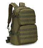Рюкзак тактический Tactical Pro штурмовой армейский рейдовый 35л олива, фото 2