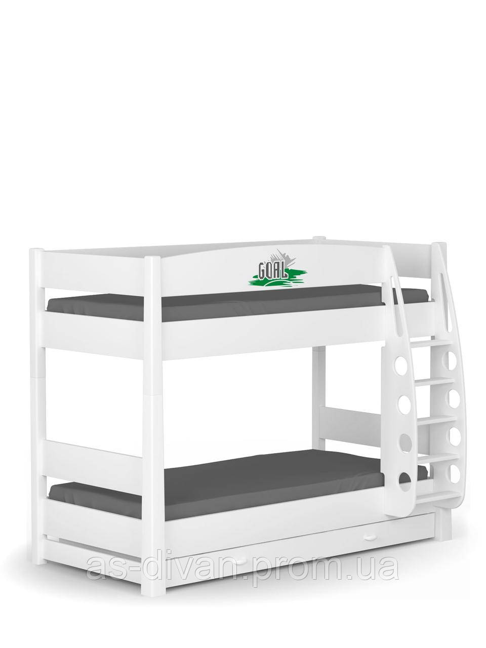 Кровать двухъярусная 90x190 Футбол