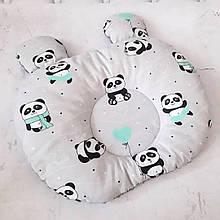 Подушка для новорожденных хлопок Панда