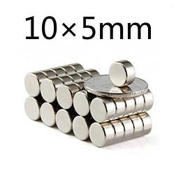 Польский неодимовый магнит 10мм*5мм, 3кг, N42