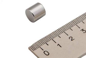 Маленький Польский неодимовый магнит 10мм*10мм, 5Кг, N42