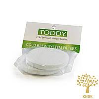Паперові багаторазові фільтри, Toddy білі 2 шт. для Тодді колд брю на 2 л.