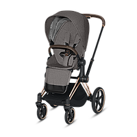 Коляска прогулочная Cybex Priam PLUS Manhattan Grey mid grey