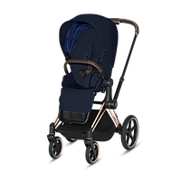 Коляска прогулочная Cybex Priam PLUS Midnight Blue navy blue