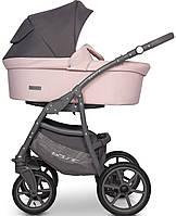 Дитяча універсальна коляска 2 в 1 Riko Basic Pastel 03 Powder Pink, фото 1