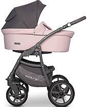 Дитяча універсальна коляска 2 в 1 Riko Basic Pastel 03 Powder Pink