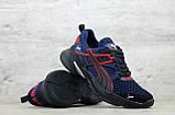 Мужские весенние кроссовки текстильные/сетка синий Puma, фото 3