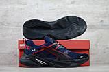 Мужские весенние кроссовки текстильные/сетка синий Puma, фото 7