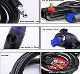 Велозамок Zha Anti-Theft 578 черный, фото 4
