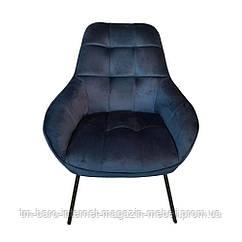 Крісло лаунж Morgan (Морган) глибокий синій, Concepto