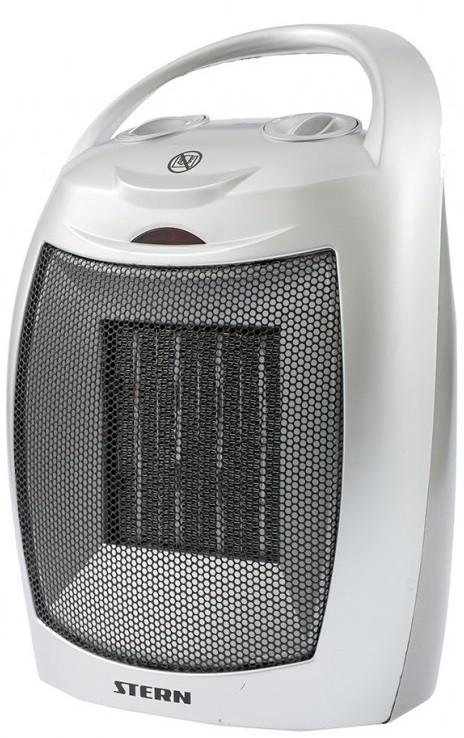 Тепловентилятор электро-керамический BHС 1500, 3 реж., вентилятор, нагрев 750/1500 Вт // Stern 96414