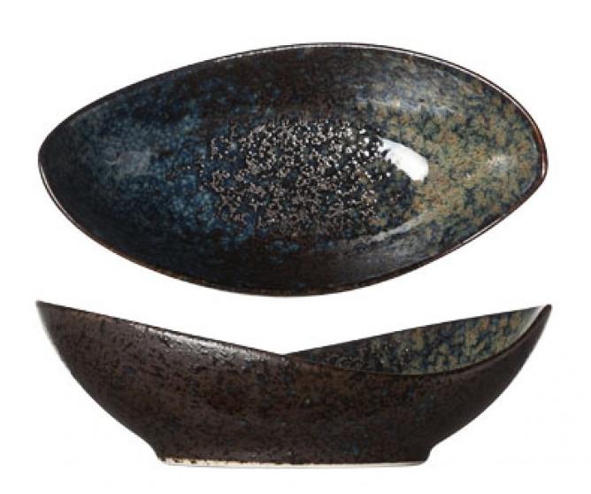Салатник овальный - 16 х 8 h 5 см, Черный (Cosy&Trendy) Back Yoru