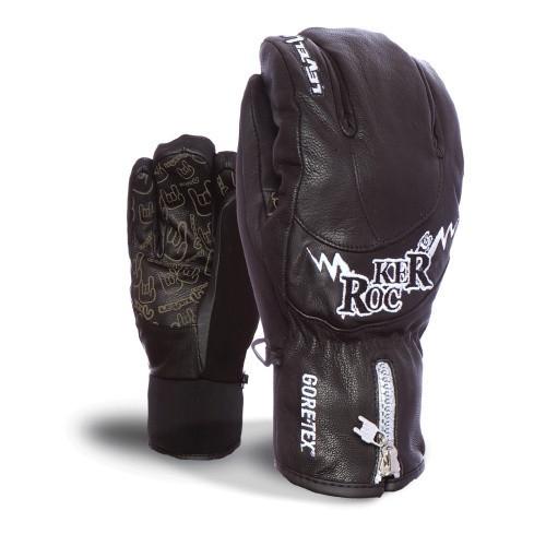 Гірськолижні рукавички шкіряні чоловічі Level grove Rocker Pro Xcr M розмір -9 (L)