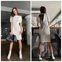 Красивое нежное женское платье с открытой спинкой Smm4175