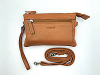 Женская кожаная сумка cross-body Buono (08-10981 cognac)