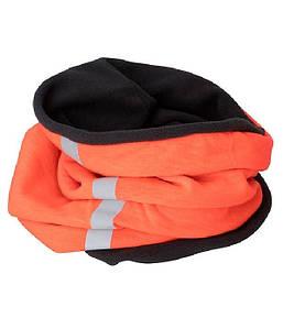 Шарф хомут  MBOC Ярко-Оранжевый / Серый