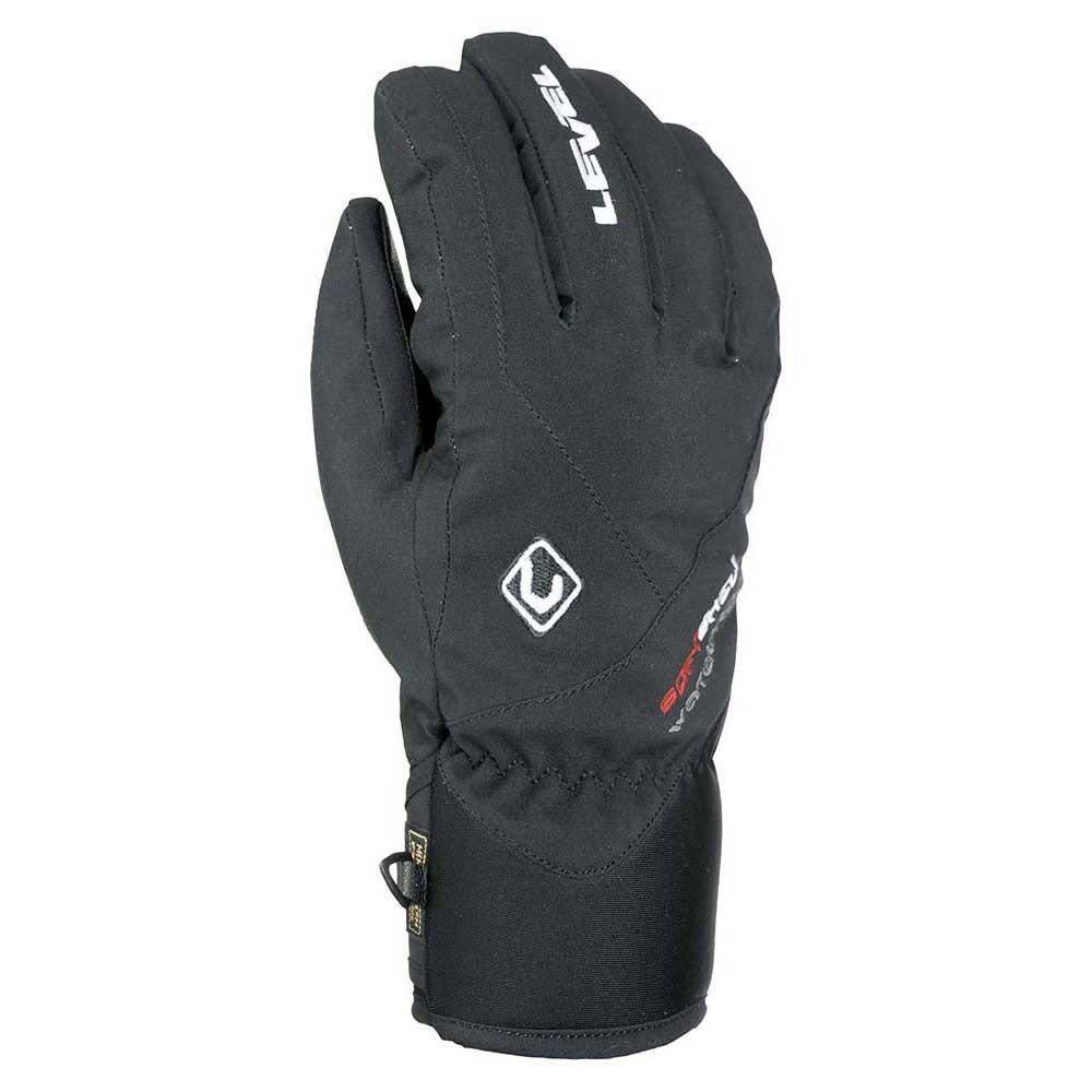 Гірськолижні рукавички Level Force чорні | розмір - 9.5 (XL)