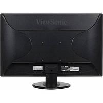 """Монитор 23.6"""" ViewSonic VA2445-LED Glossy-Black FullHD LED 5ms 16:9 DVI 10M:1 250cd, фото 2"""