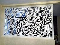 Декоративна ажурна різьблена панель МДФ