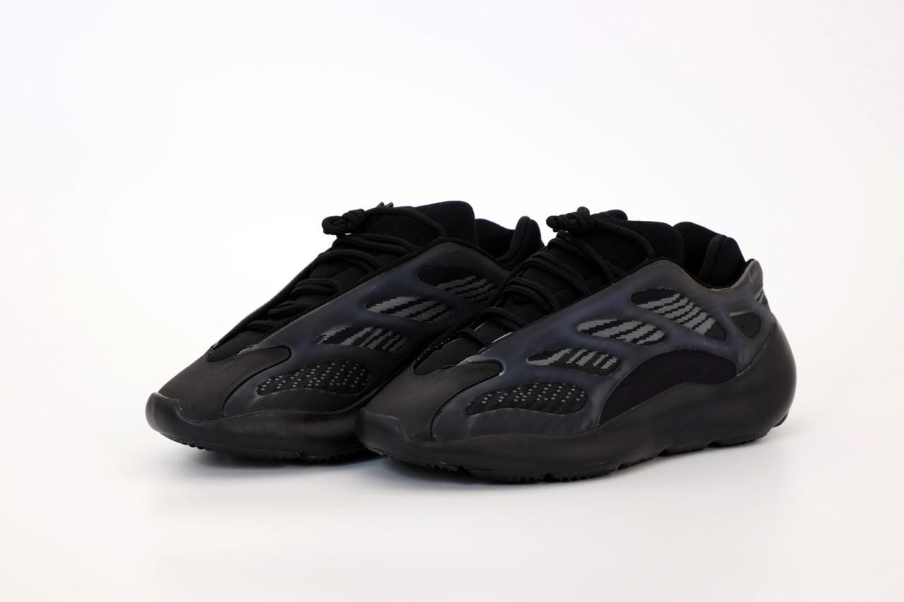 Мужские кроссовки Adidas Yeezy 700 V3 Black, мужские кроссовки адидас изи 700 (41,42 размеры в наличии)